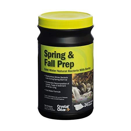 CrystalClear Spring & Fall Prep 24 pkt