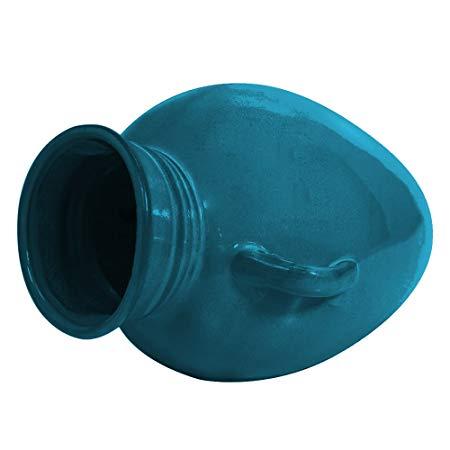 OASE 45450 Ceramic Turquoise Pouring Vase Spitter, Black